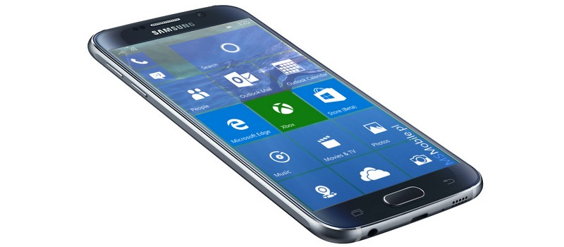 Android Windows 10 Mobile