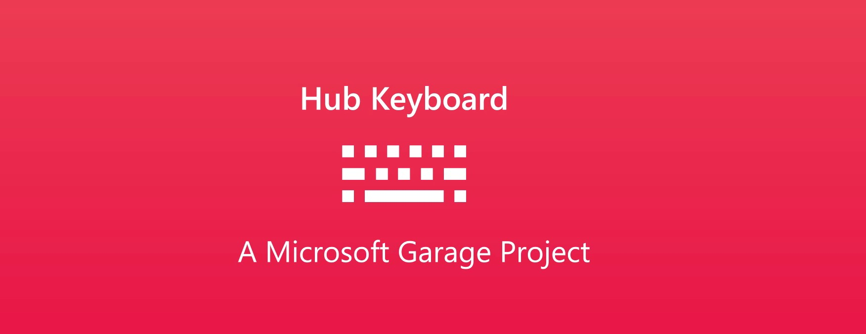 Hub Keyboard ios