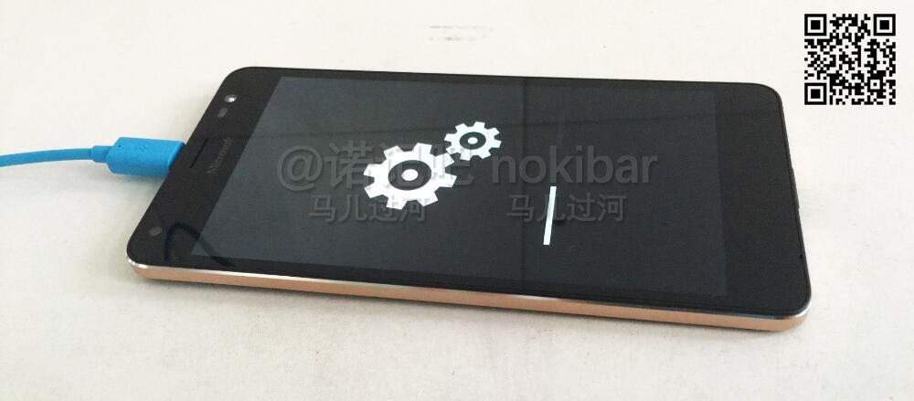 Sehen wir hier das Lumia 850?