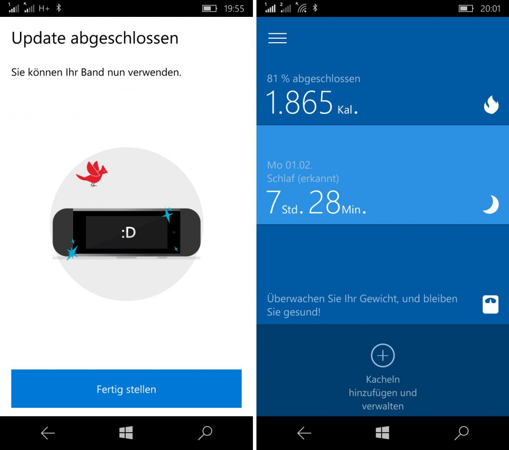 Microsoft Health Update