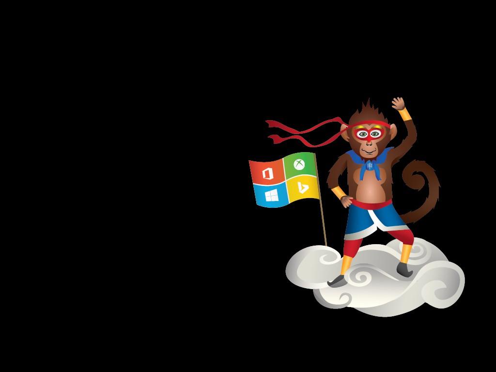 Das neue Maskottchen der Windows-Insider: Der Ninja Monkey