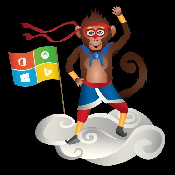 Der neue Ninja-Monkey.