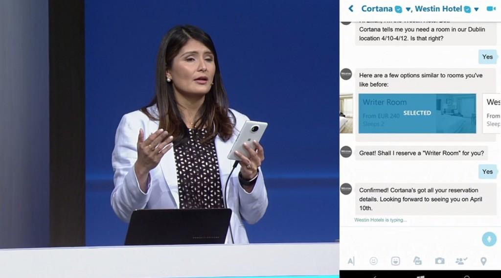 Cortana Bot Zimmerreservation