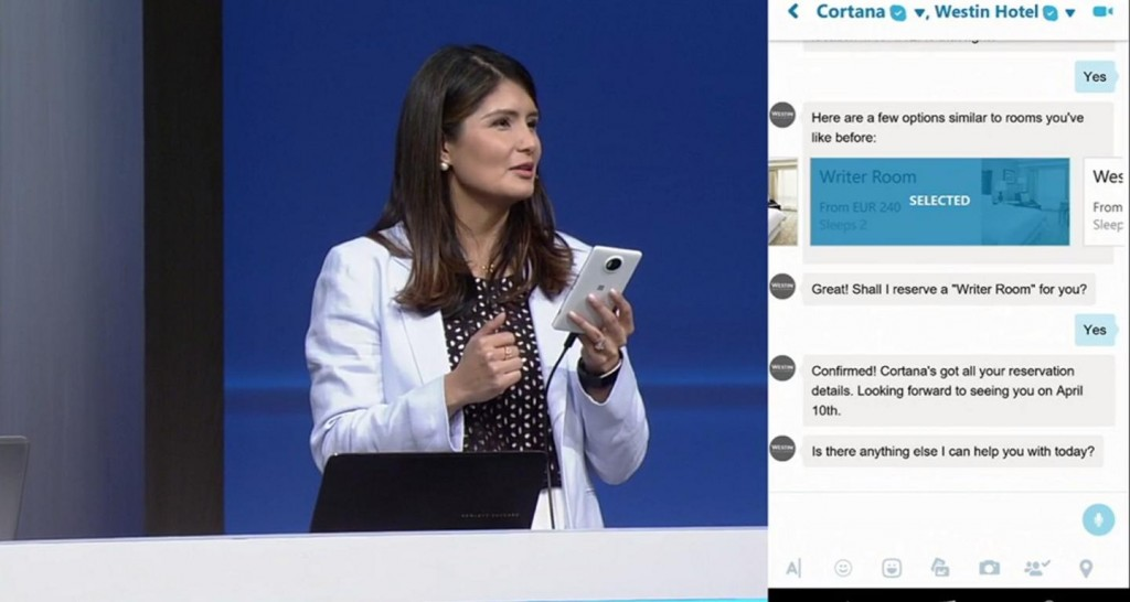 Cortana Skype App
