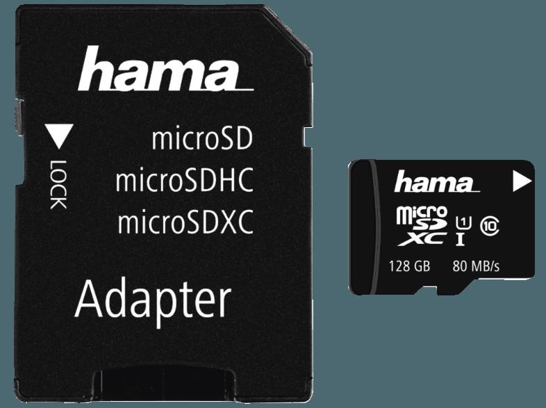 HAMA-124160-Micro-SDXC--128-GB--Class-10--80-MB-s