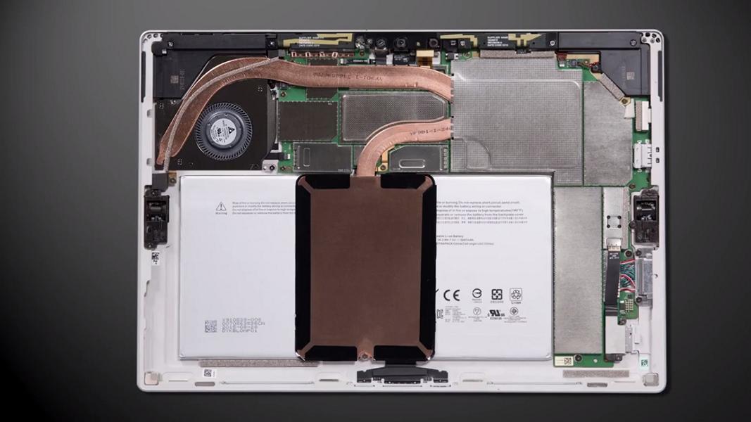 Entdeckt Das Innenleben Des Surface Pro 4 Windowsunited