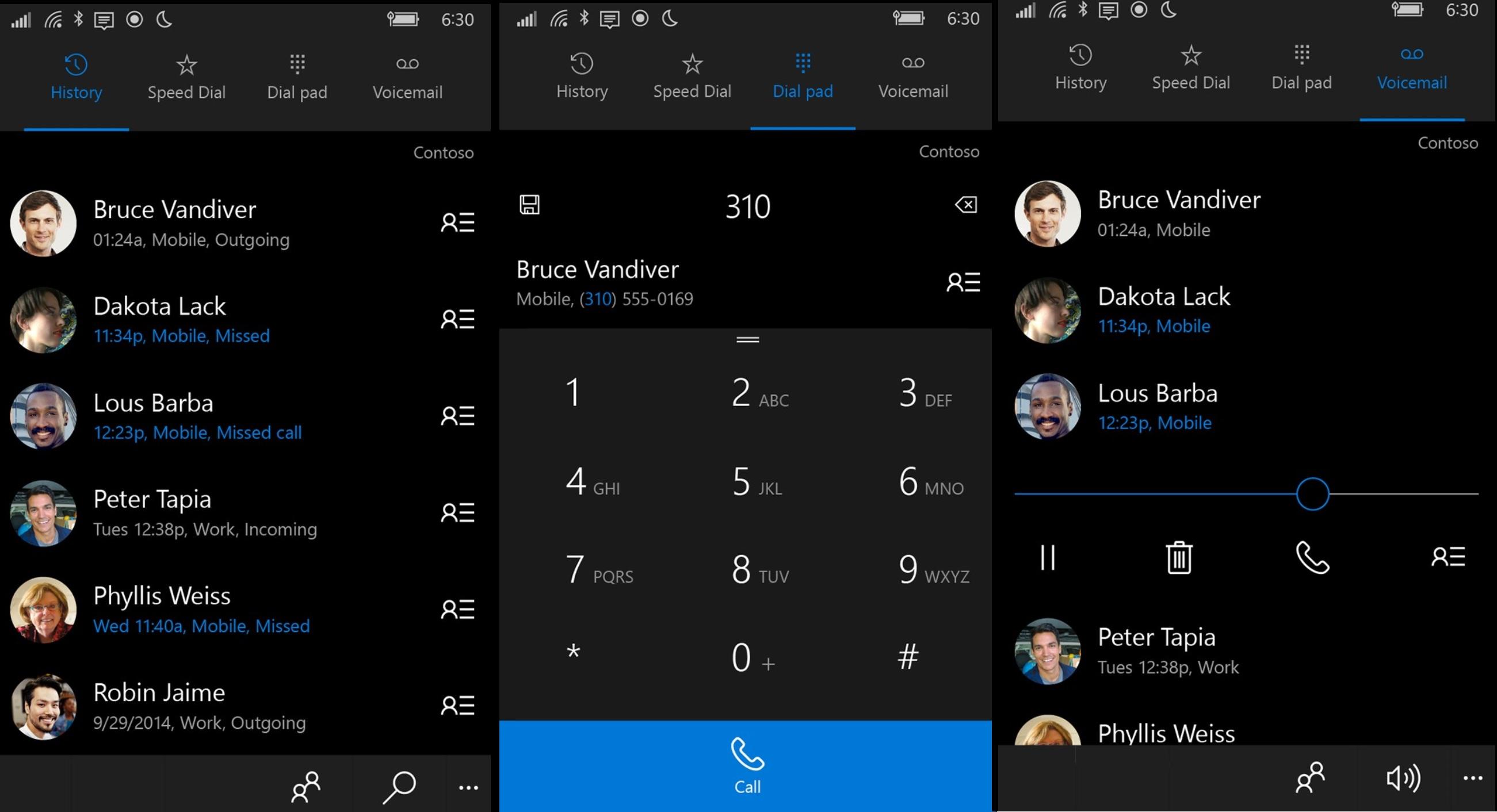 Microsoft-Phone-app