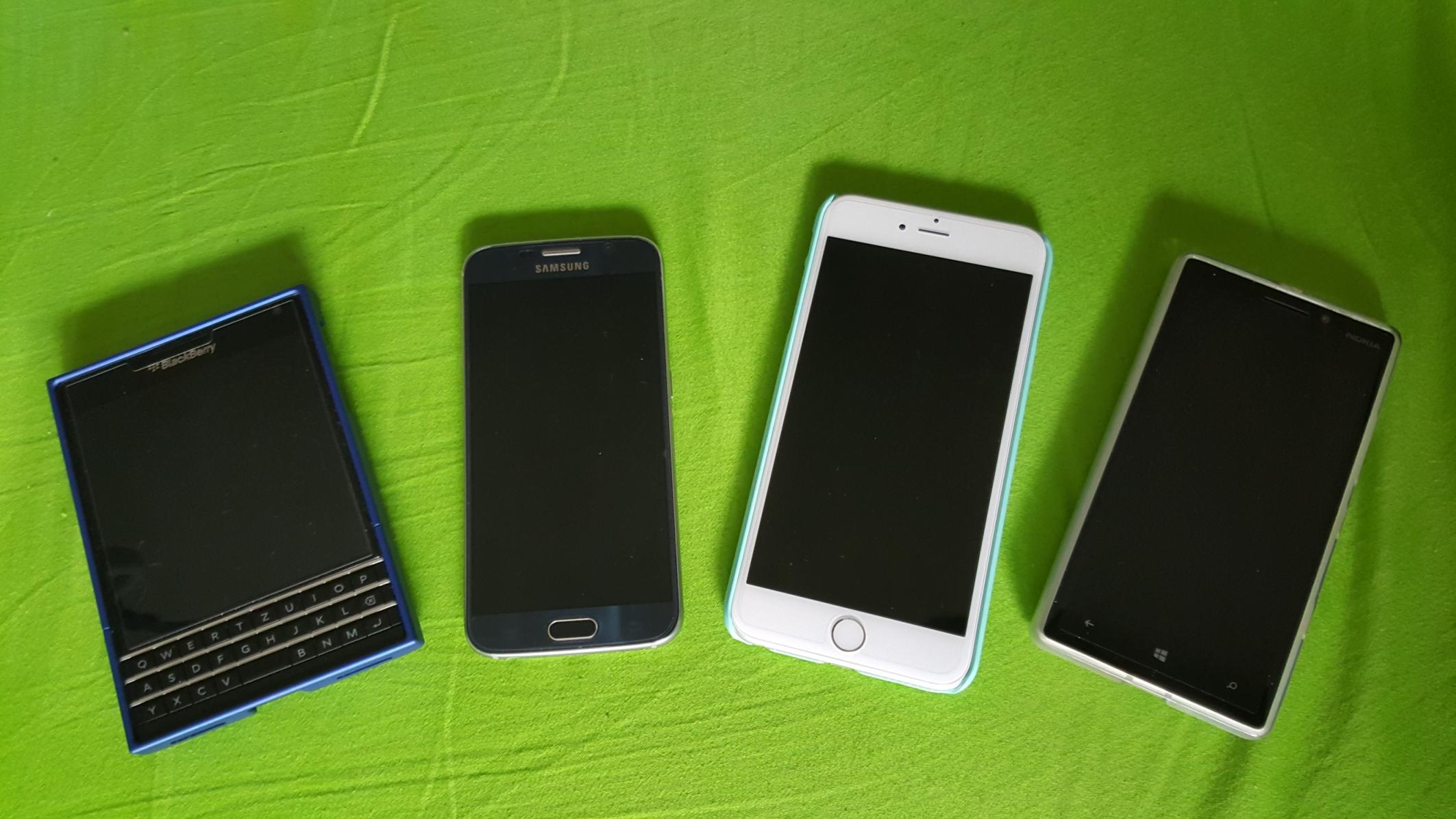 Mobile OS Vergleich
