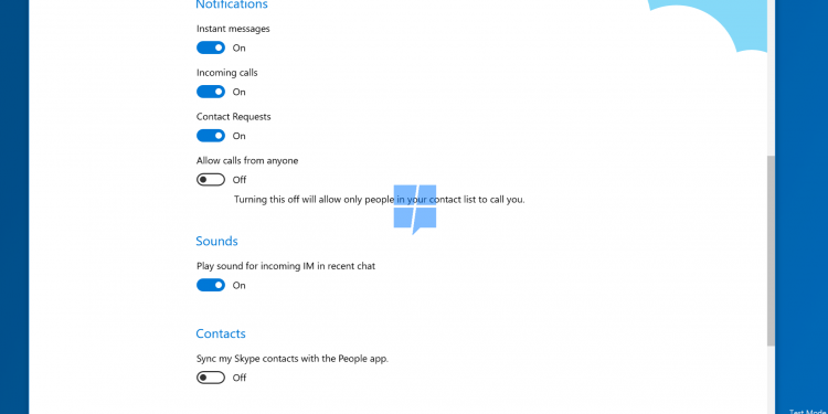 Skype 10