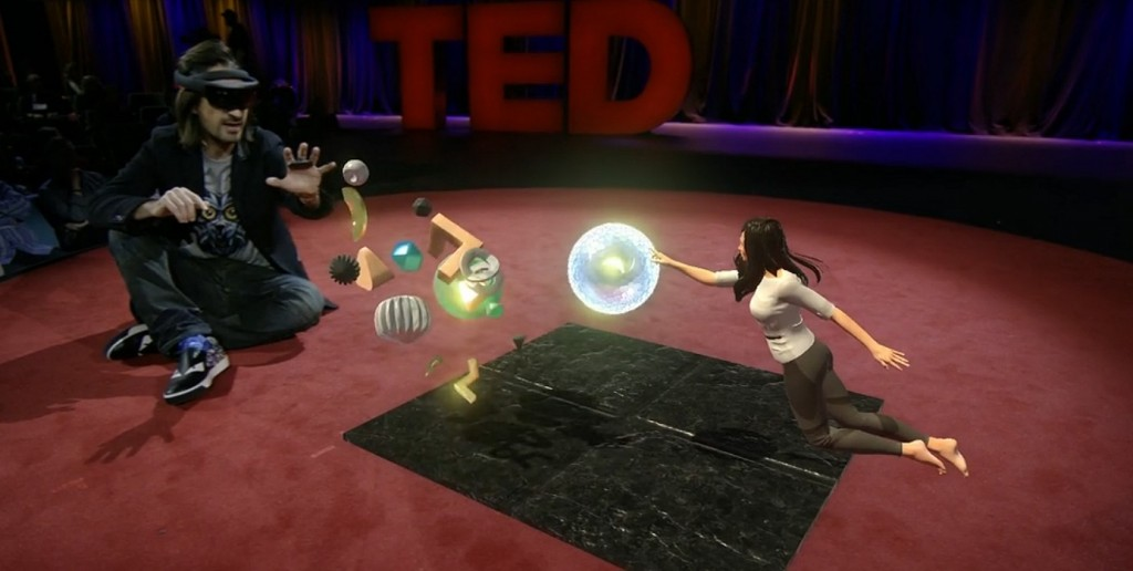 TED Konferenz Hololens