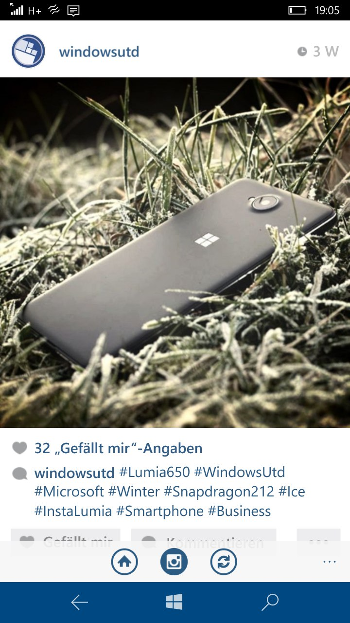 WindowsUnitedInstagram
