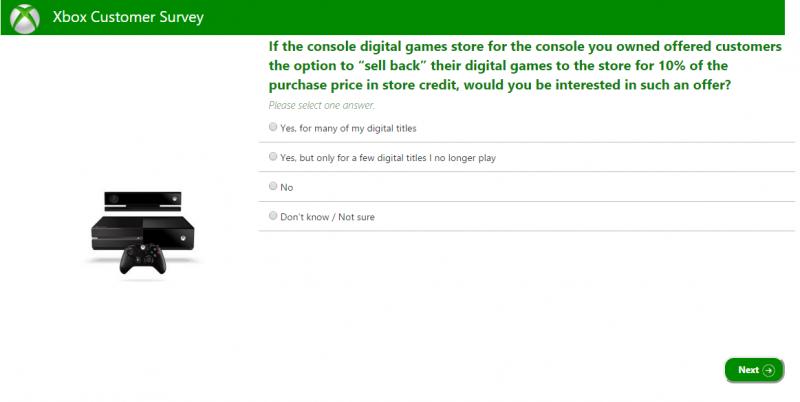 Xbox Umfrage