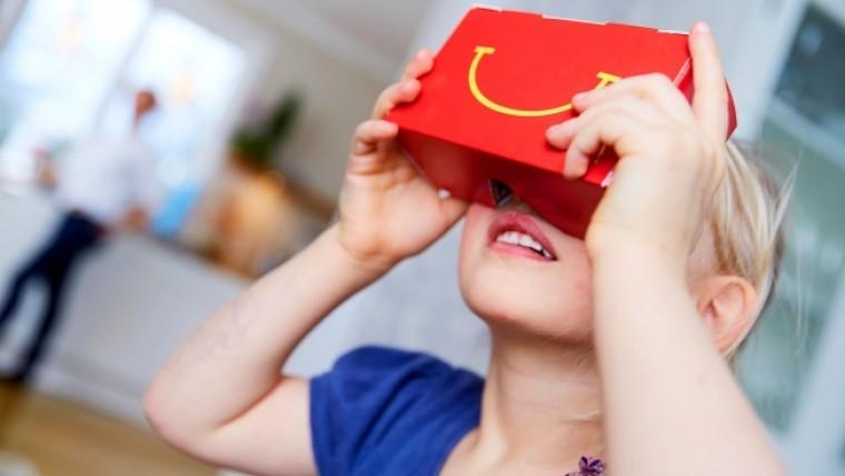 McDonalds VR Brille