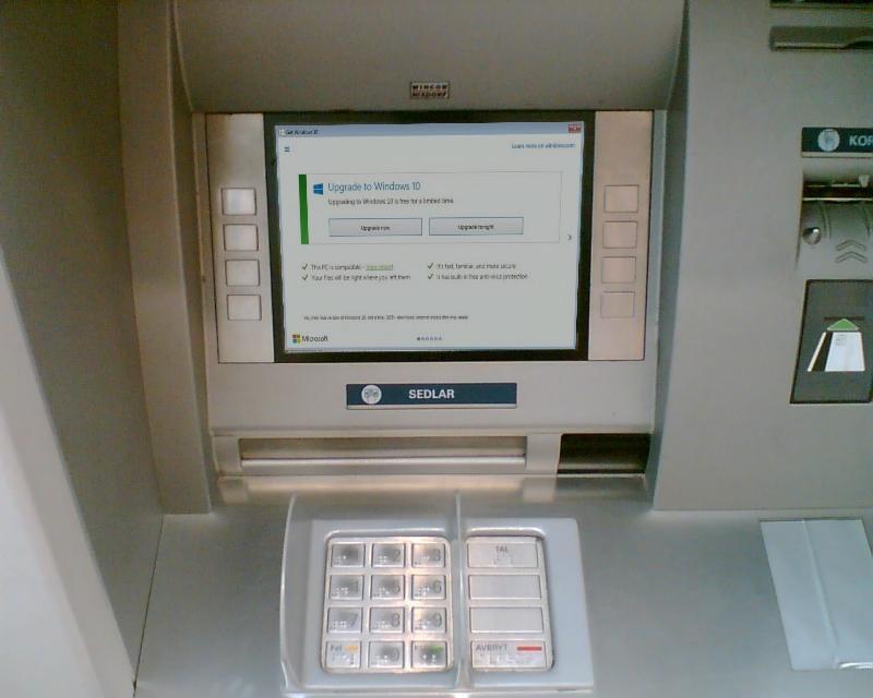 Windows 10 Bancomat