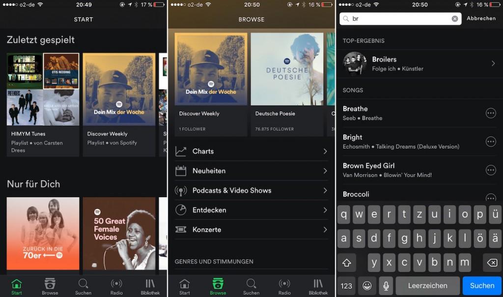 Spotify iOS 1