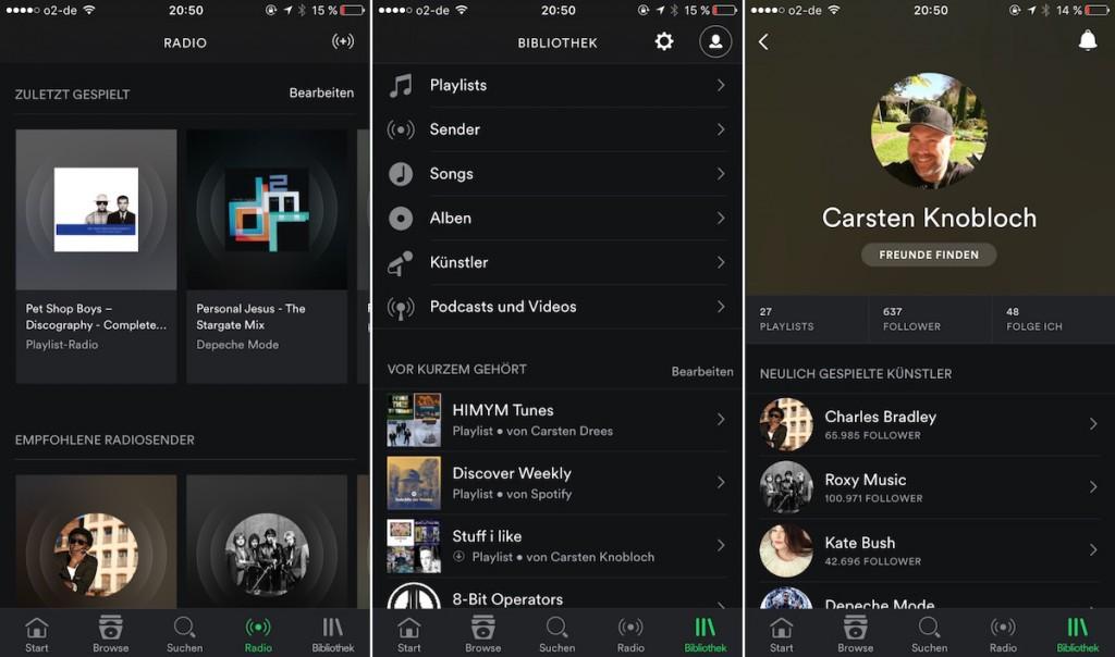 Spotify iOS 2