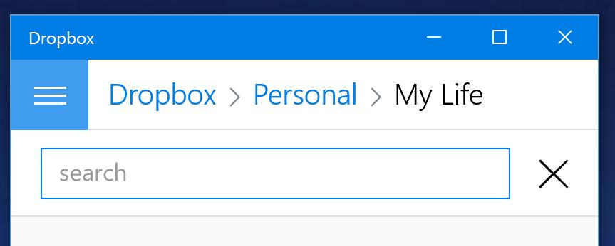 Suche 2 Dropbox 4.2