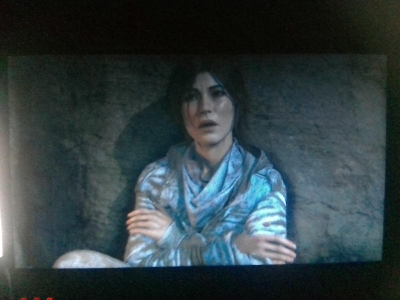 Testbild 2 - Lara Croft