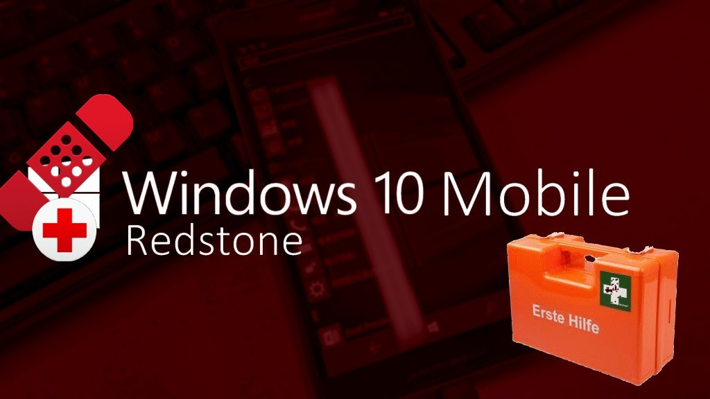 Windows 10 Mobile Redstone Fix Nr. 2