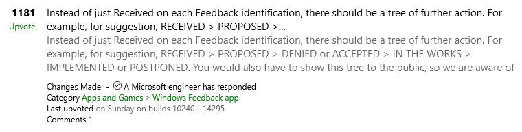 Windows Insider Feedback Hub