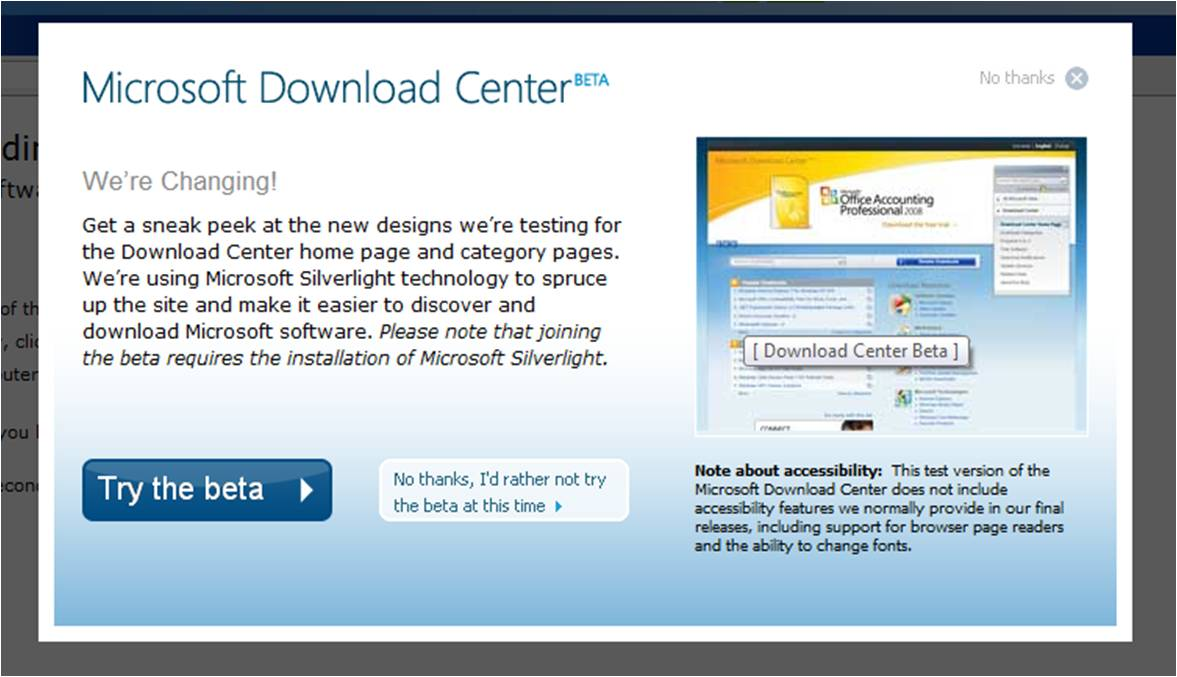 MS Download Center