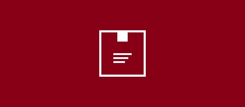 Gelbrote Sendungen neues Logo