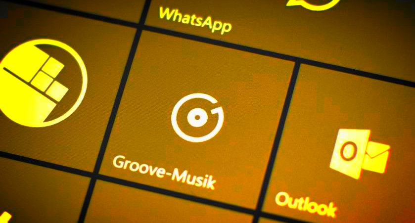 Groove Music Player Gold