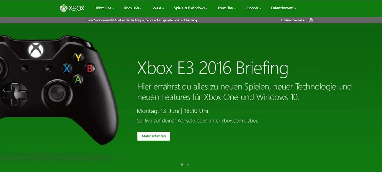 Xbox E3 Keynote