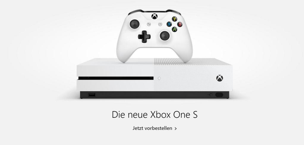 Xbox One S vorbestellen