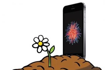 iPhone Grabstein
