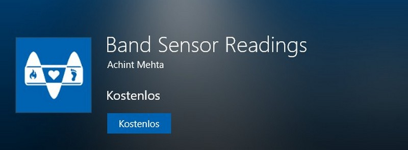 Band Sensor Readings