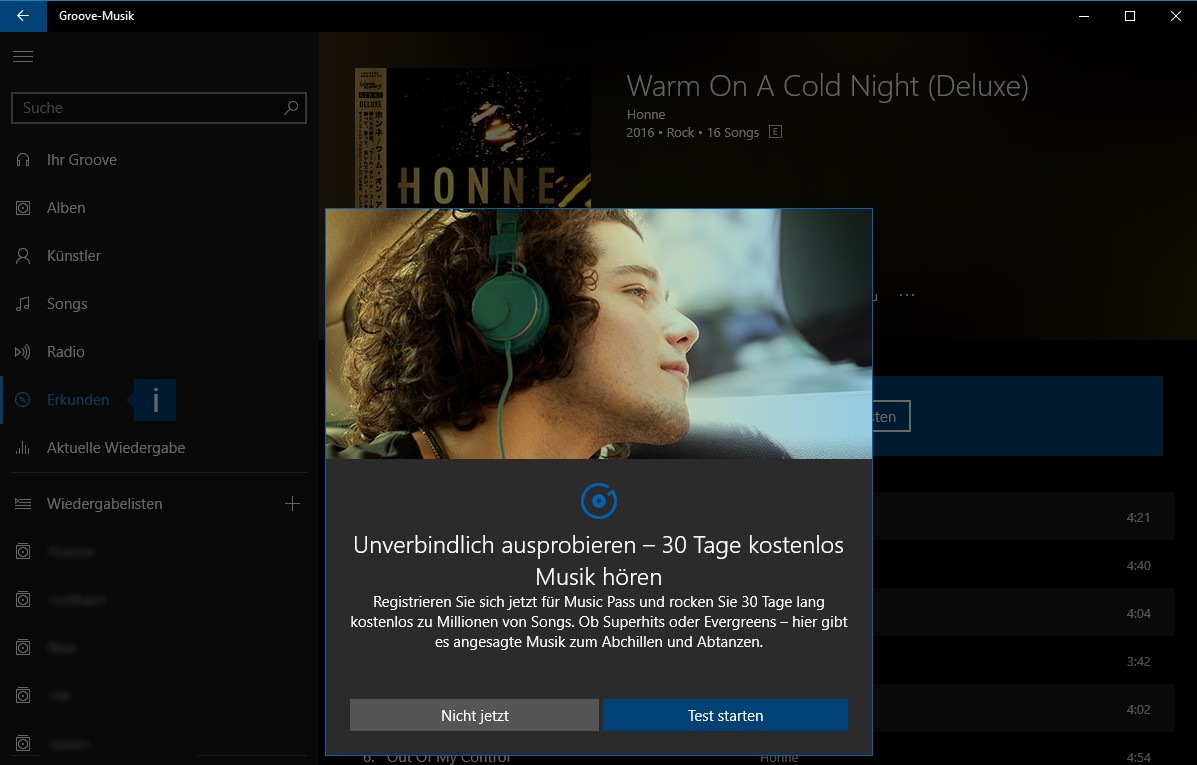 how to cancel xbox groove music pass