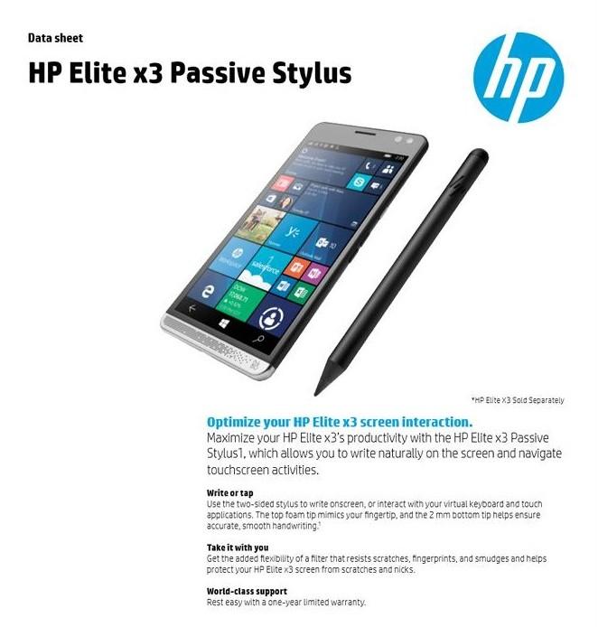 HP x3 Stylus