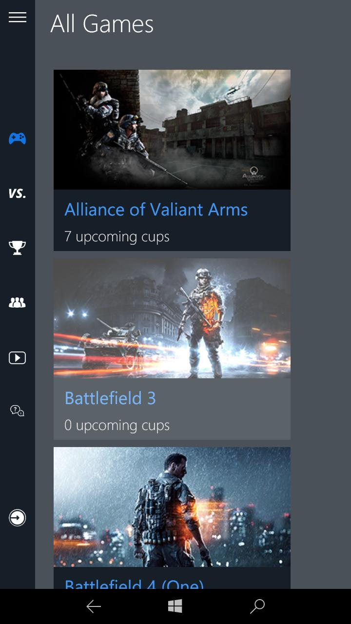 Screenshot All Games