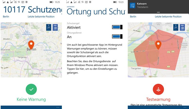 KATWARN-Screenshots-Windows-Phone