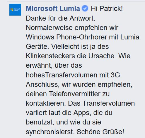 Lumia Support Facebook