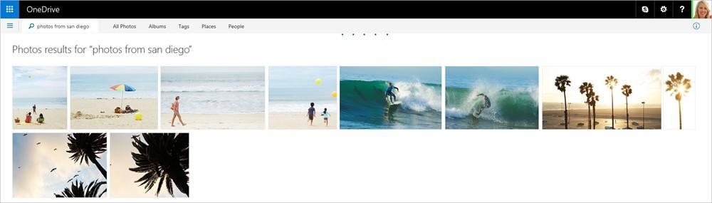OneDrive Suche