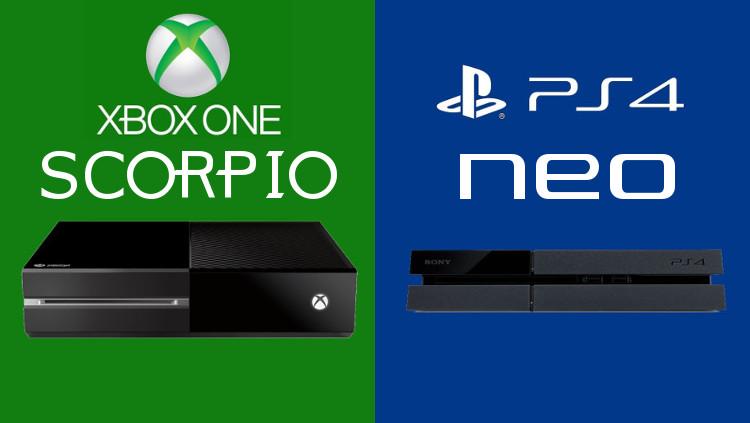 Xbox Scorpio vs Playstation 4 Neo