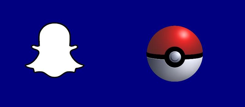 Snapchat Pokémon