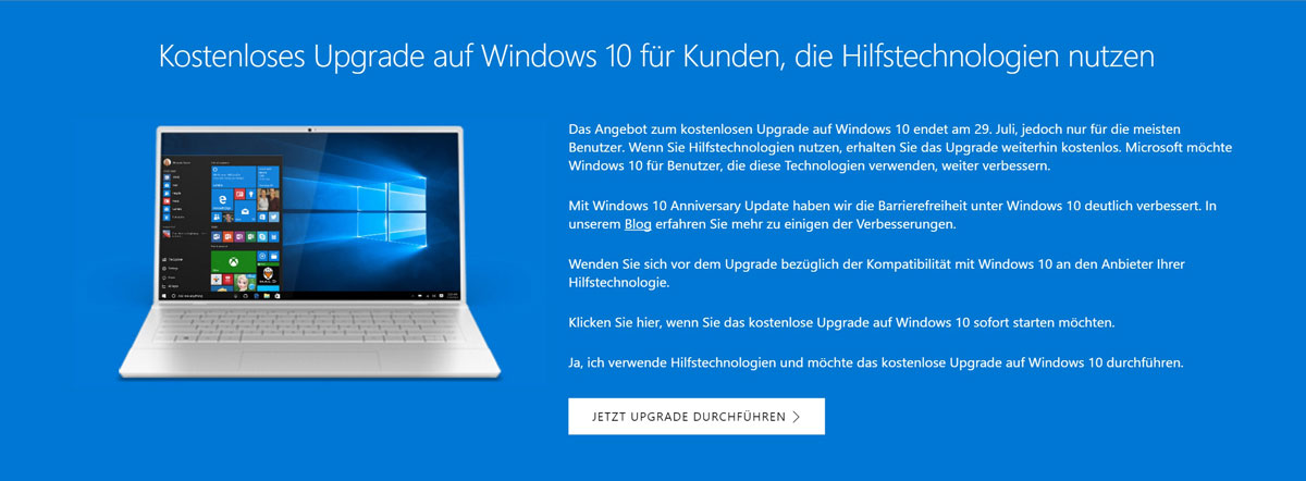 Windows-10-Upgrade-Behinderungen