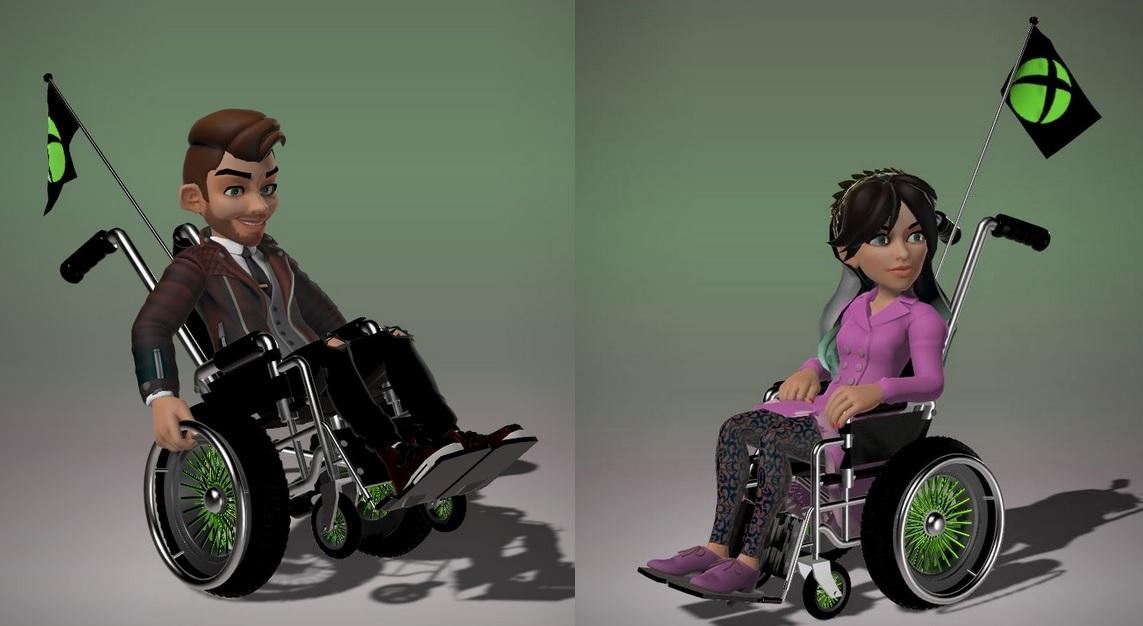 Xbox Rollstuhl Avatar