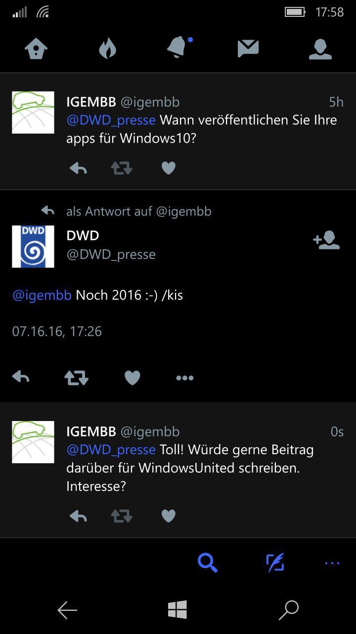 DWD App