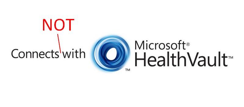 HealthVault NOT