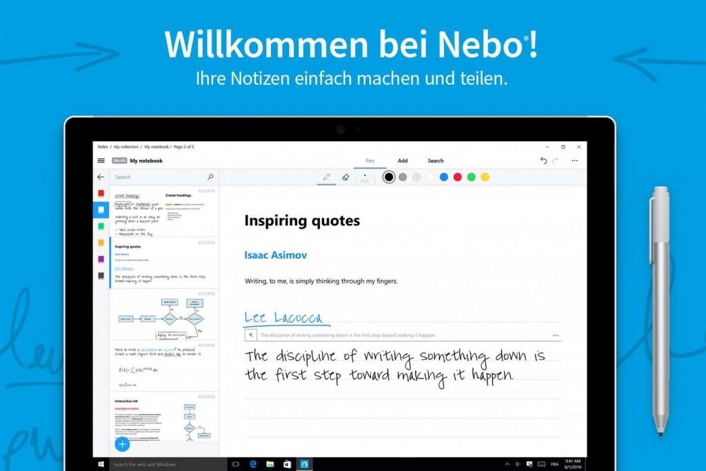 Nebo App