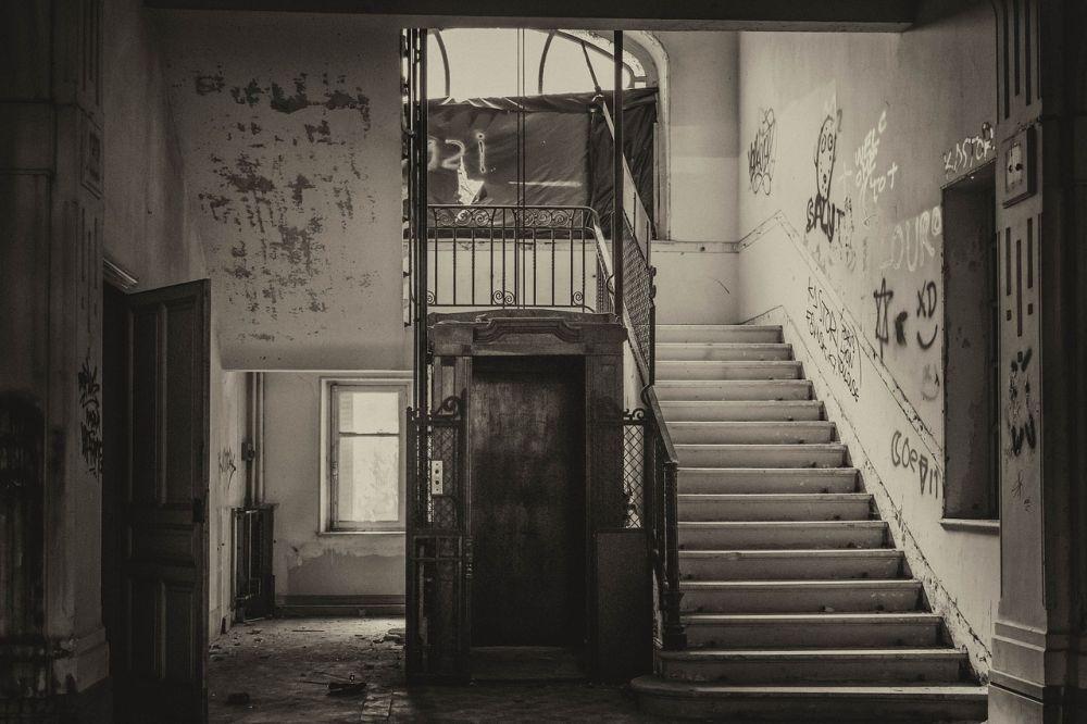 Horrorfilm Fahrstuhl