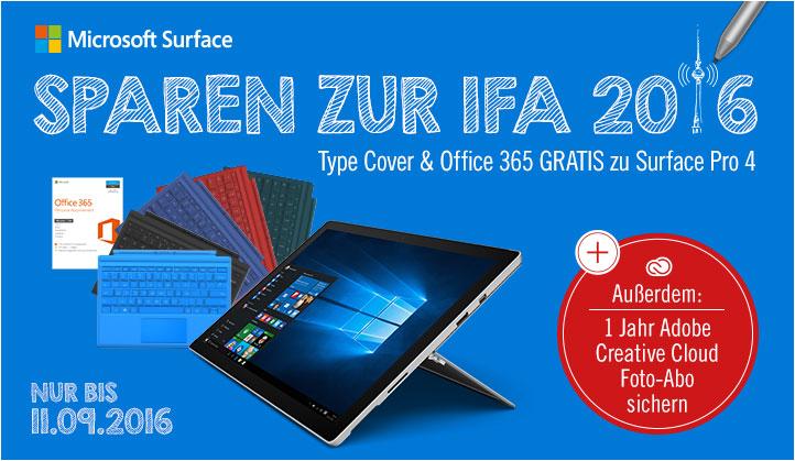 Microsoft Surface IFA Deals