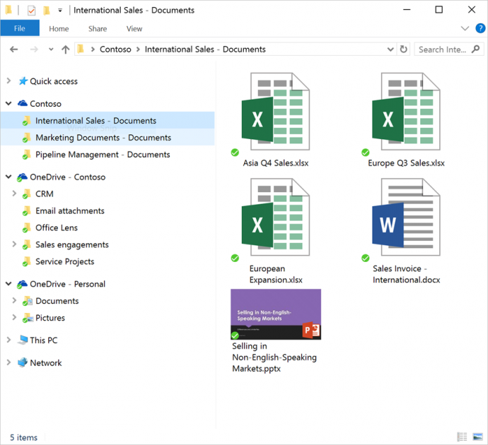 sharepoint-sync onedrive