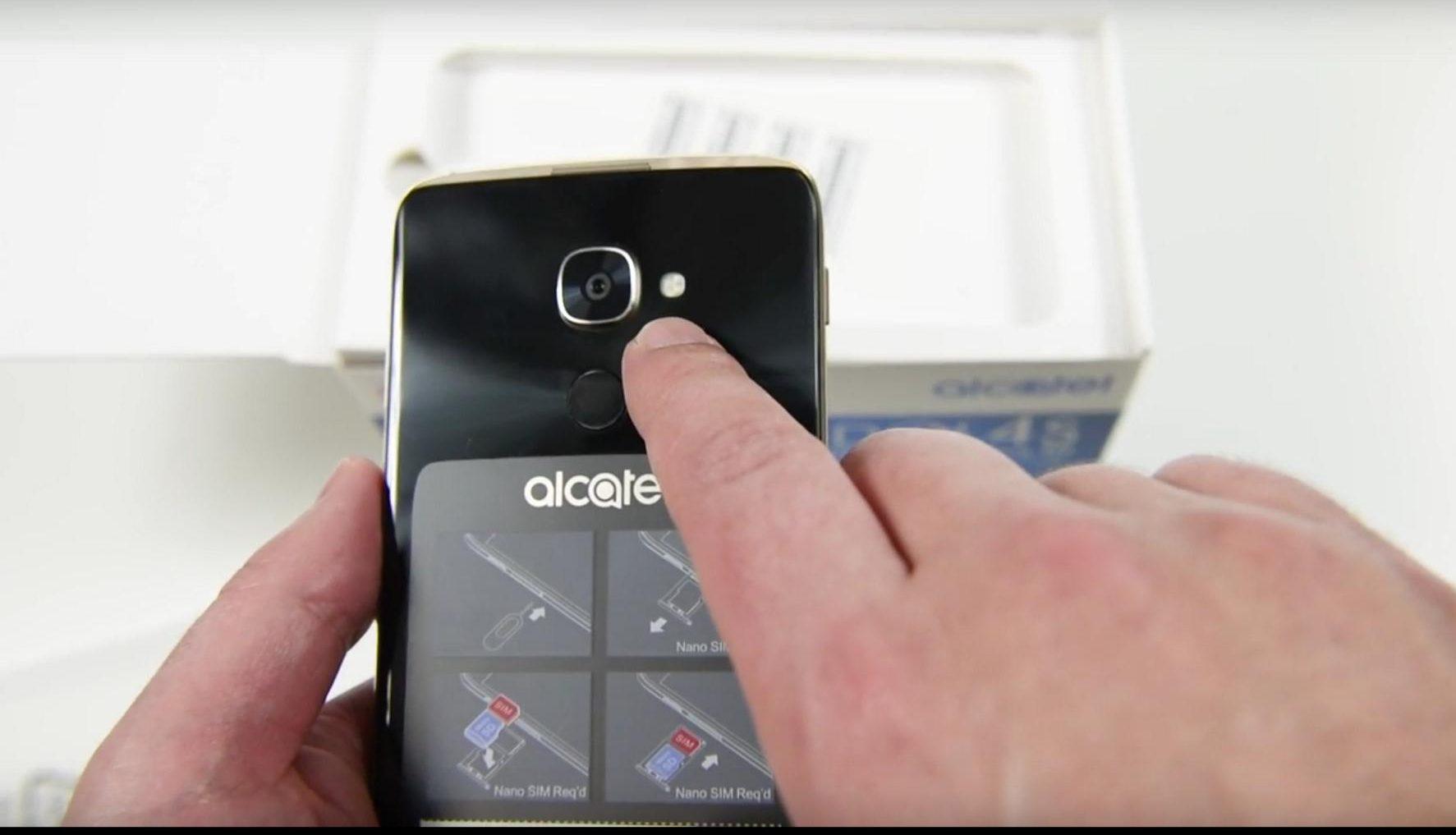Alcatel Idol 4S Unboxing