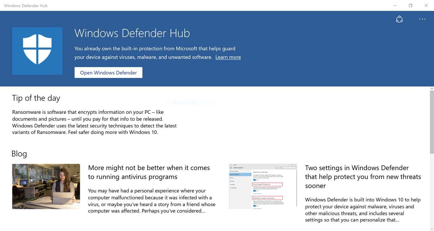 defender-hub