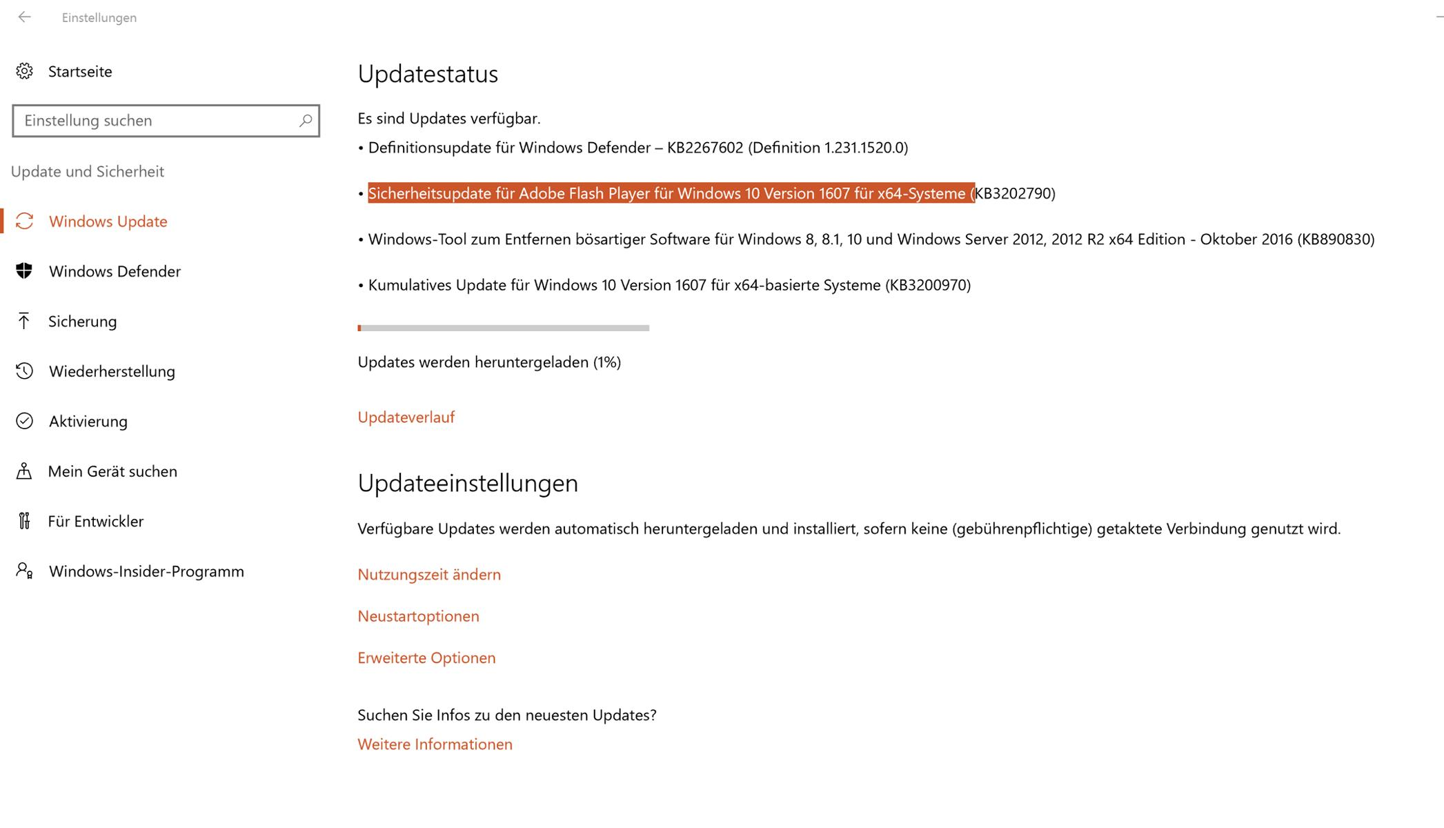 sicherheitsupdate adobe flash